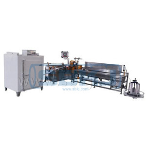 Aluminum flexible duct forming machine SBLR-200A